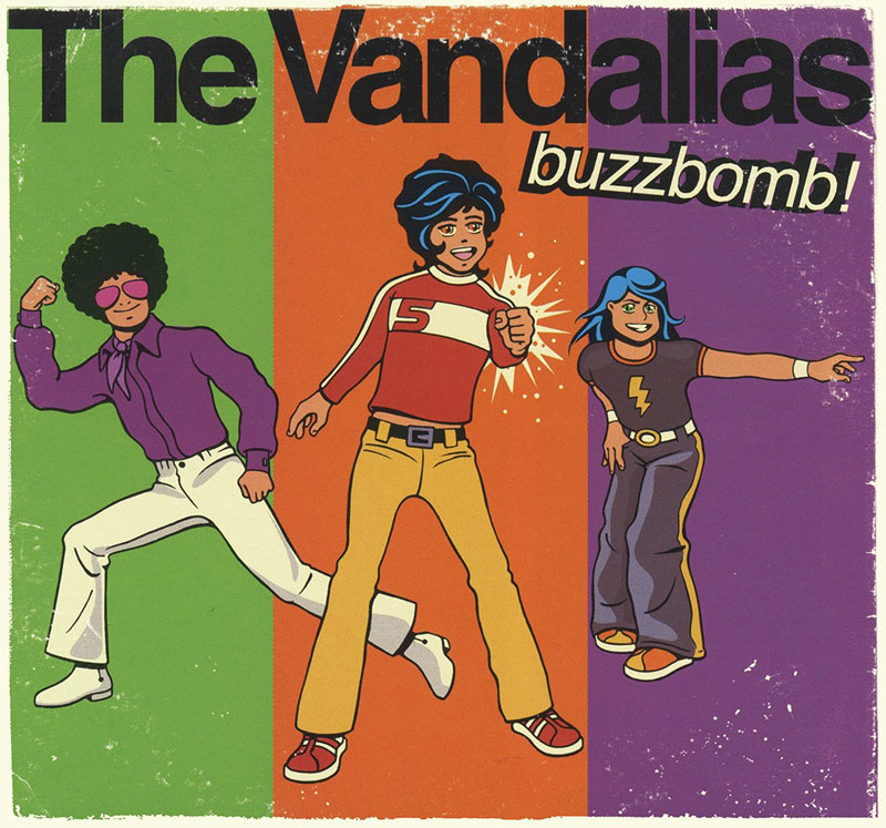 The Vandalias - Buzzbomb! cover art